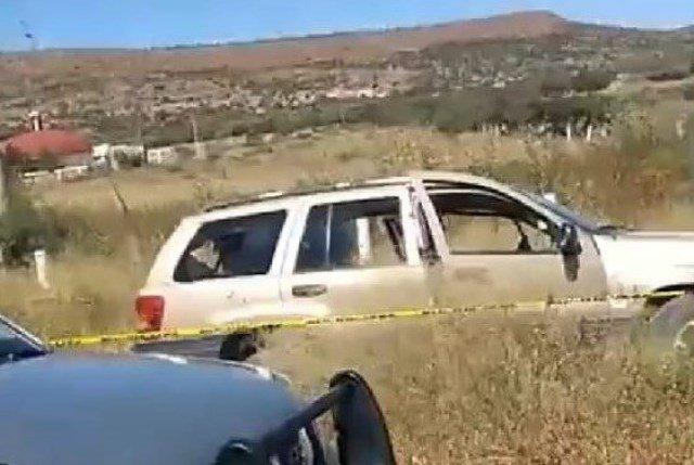 ¡Ejecutaron a un hombre e hirieron a otros tres cerca de una gasera en Fresnillo!