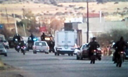 ¡Mueren 14 delincuentes al agredir a policías estatales en Calera, Zacatecas!