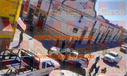 DE ULTIMA HORA: Enfrentamiento en el centro de Ojuelos, reportan dos policías graves