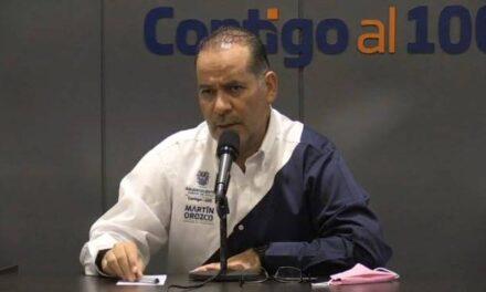¡Martín Orozco Sandoval descarta volver al confinamiento ante el aumento en los contagios!