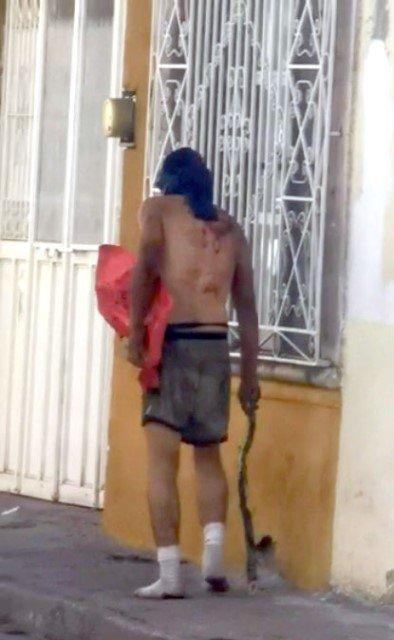 """¡Torturaron a """"La Metra"""" en Jerez y lo abandonaron con un narco-mensaje!"""