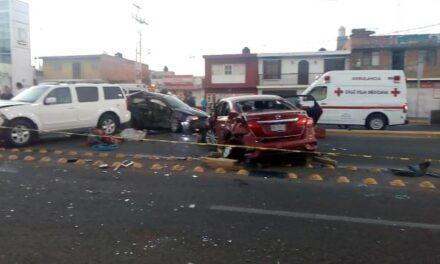 ¡Fuerte accidente en Aguascalientes dejó 2 muertos y 2 lesionados graves!