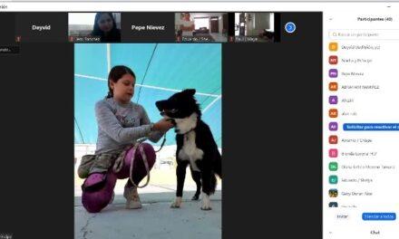 ¡De manera virtual se graduó la décimo quinta generación de adiestramiento canino del Municipio capital!