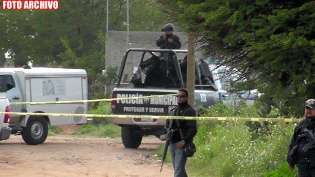 ¡Hombre fue perseguido y ejecutado a bordo de su camioneta en Guadalupe!