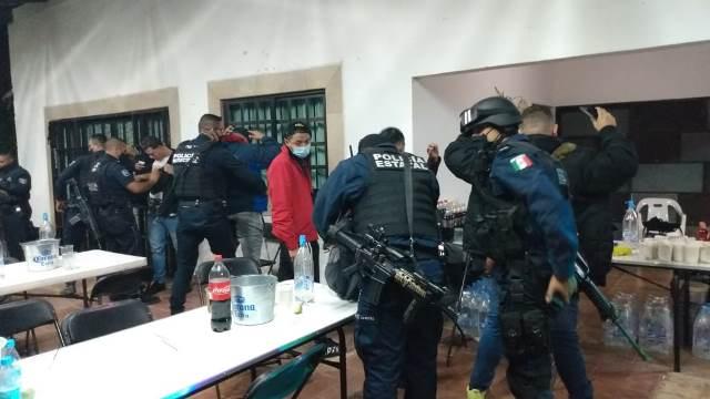 ¡En operativo conjunto, la SSPE y la Guardia Sanitaria suspendieron fiesta RAVE!