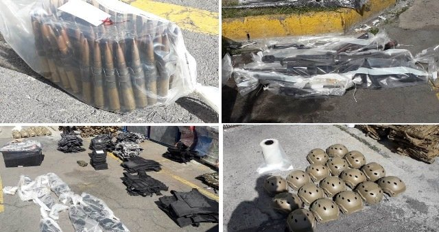 ¡FGR aseguró arsenal, droga y diversos precursores químicos en una narco-casa en Lagos de Moreno!