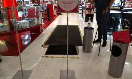 ¡Guardia Sanitaria realizó 20 visitas a negocios dentro de centros comerciales!