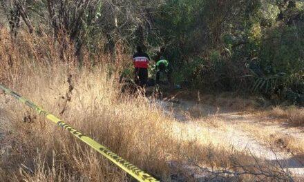 ¡Hallaron muerto a un hombre cerca de unos campos de beisbol en Aguascalientes!