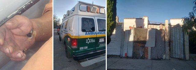 ¡Hombre se electrocutó al hacer reparaciones en su casa en Aguascalientes!