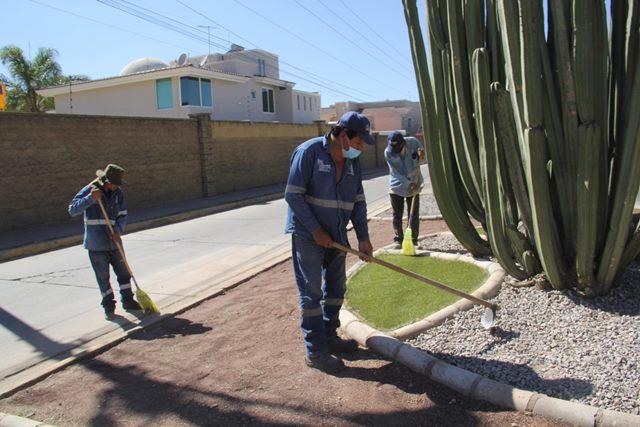 ¡Intensifica Municipio mantenimiento en áreas verdes!