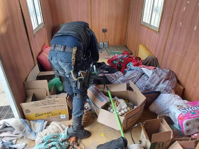 ¡Localizaron y destruyeron campamento de la delincuencia organizada en Villa de Cos!