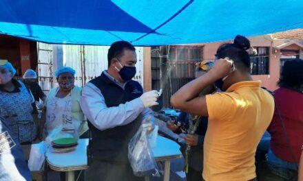 ¡Mantiene Municipio medidas sanitarias preventivas contra COVID-19 en tianguis y mercados!