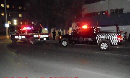 ¡Policías estatales de Aguascalientes detuvieron a 3 sujetos con armas de fuego!