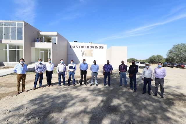 ¡Supervisa gobernador Martín Orozco avance del 80% en construcción y equipamiento del nuevo Rastro TIF!