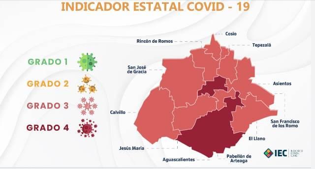 ¡Sube a riesgo máximo de contagios el municipio capital: ISSEA!