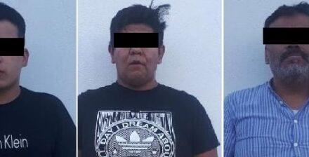 """¡Tras persecución detuvieron a 3 sujetos con más de un kilo de marihuana y """"crystal"""" en Aguascalientes!"""
