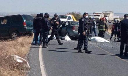 ¡Brutal choque en Pánuco dejó 3 mujeres muertas y 4 lesionados graves!