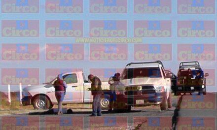 ¡Junto a la autopista hallaron a un hombre ejecutado a balazos en Fresnillo!