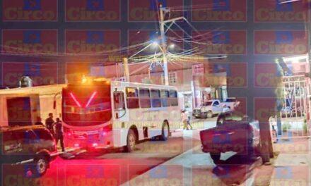 ¡Ejecutaron a chofer a bordo de un camión de pasajeros en Fresnillo!