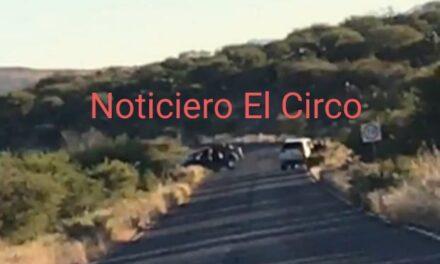 ¡Enfrentamiento entre miembros del CDS y CJNG en Tepetongo, Zacatecas!