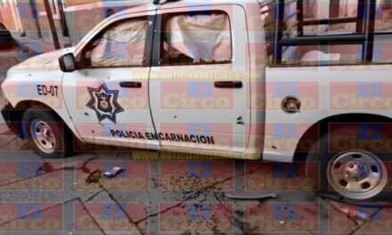 ¡Enfrentamiento entre policías y delincuentes en Encarnación de Díaz!