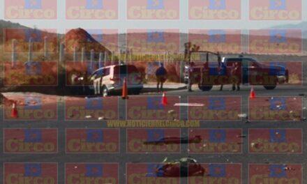 ¡Choque entre una camioneta y un auto en Fresnillo dejó 3 muertos y 2 lesionados!