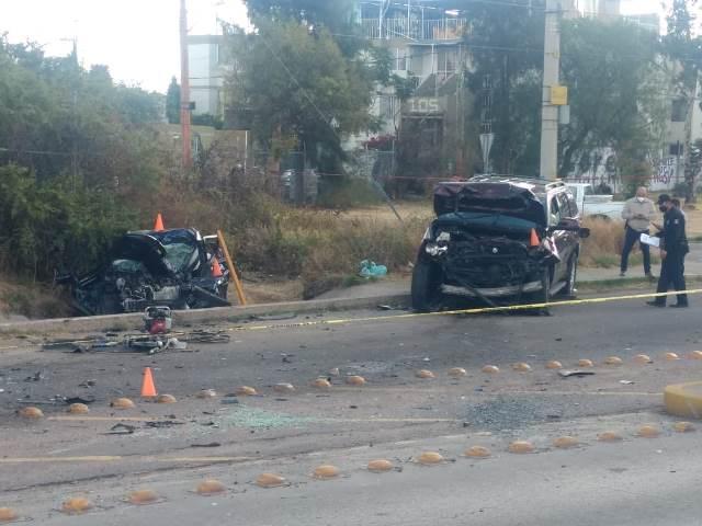 ¡1 muerta y 1 lesionado grave tras fuerte accidente en Aguascalientes!
