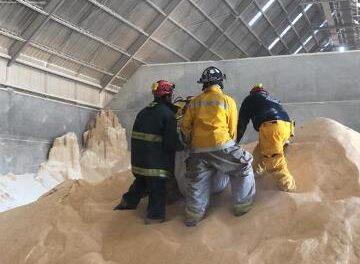 ¡Hallaron el cuerpo destrozado de un hombre en una empresa de granos en Aguascalientes!