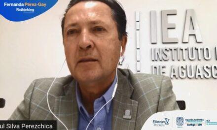 ¡Maestro Perezchica reconoce compromiso y vocación del magisterio aguascalentense en encuentro internacional en línea!