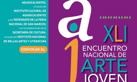 ¡Abierta la convocatoria del XLI Encuentro Nacional de Arte Joven 2021!