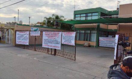¡Toman instalaciones de oficinas de distrito de riego 01 por irregularidades en elección de mesa directiva!