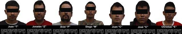 ¡Vincularon a proceso por delitos federales a 7 sicarios detenidos en Zacatecas!