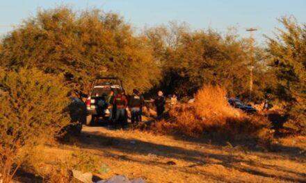 ¡Ejecutaron a un hombre a espaldas de Valle Dorado en Guadalupe y le dejaron un narco-mensaje!