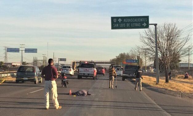 ¡Mujer murió atropellada por una camioneta conducida por otra fémina en Aguascalientes!