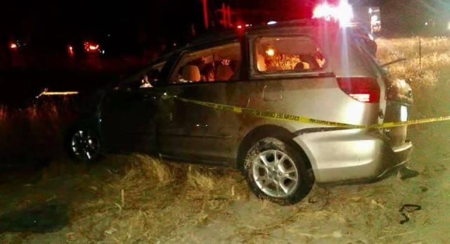 ¡2 muertos y 5 lesionados dejó volcadura de una camioneta en Jalisco!