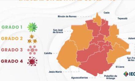 ¡5 municipios en grado 2 en el Indicador Estatal COVID: ISSEA!