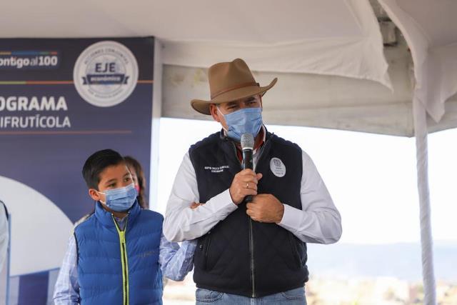 ¡Con primera gira rural del año reitera gobernador su compromiso con el campo local!