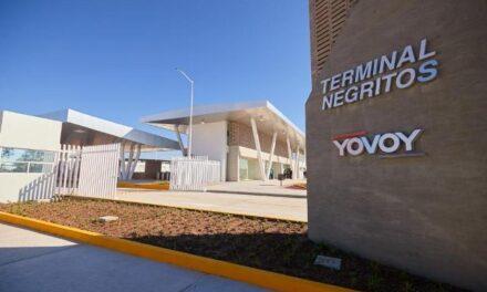 """¡Gobernador entrega primera terminal Multimodal """"Los Negritos""""!"""