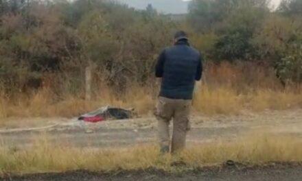 ¡Mujer fue ejecutada estrangulada y abandonada encobijada en Aguascalientes!