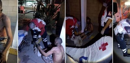 ¡Hombre se rocío gasolina y luego se prendió fuego en la vía pública en Aguascalientes!