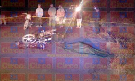 ¡Accidente de motocicleta dejó un menor de edad muerto y dos heridos graves en Lagos de Moreno!