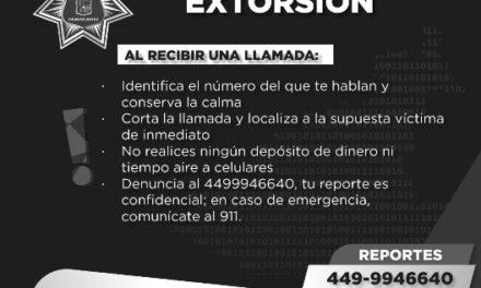 ¡Policía Municipal emite recomendaciones para evitar extorsiones telefónicas!