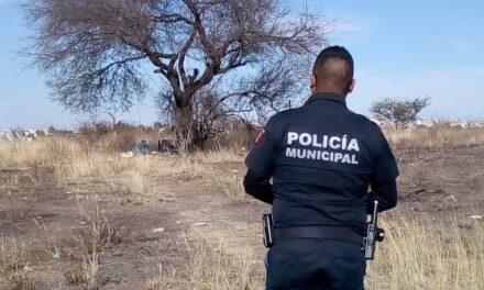 ¡Hombre se mató colgándose de la rama de un árbol en un predio en Aguascalientes!