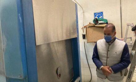 ¡Supervisa gobernador Martín Orozco cumplimiento de normas en crematorio y funeraria La Gloria!