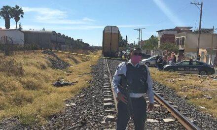 ¡Sexagenario murió atropellado por el tren en Aguascalientes por salvar a su mascota!