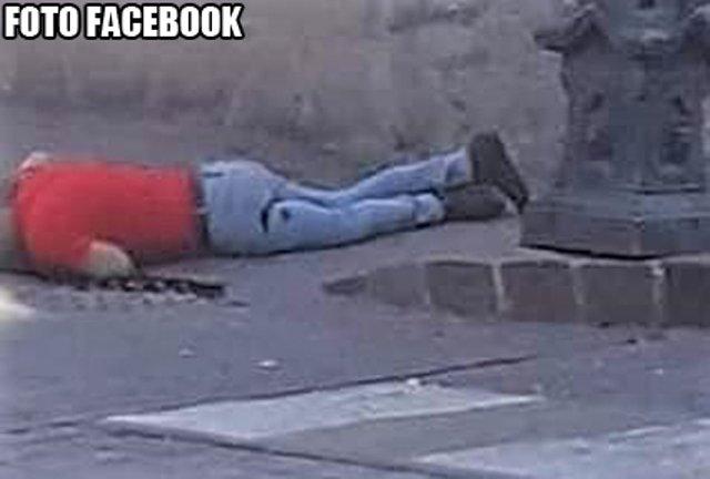 ¡Frente a la Presidencia Municipal de Valparaíso ejecutaron a un hombre!