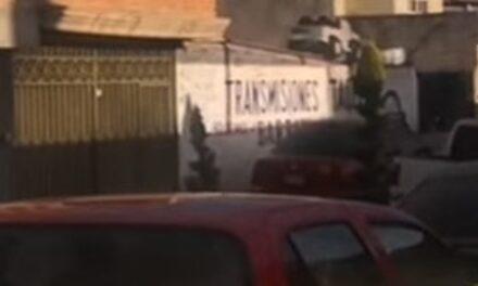 "¡Ejecutaron a un hombre en el taller de transmisiones ""Barrón"" en Fresnillo!"