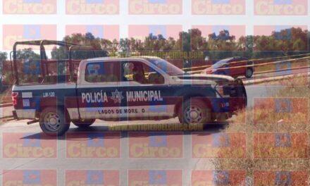 ¡Hallaron a hombre ejecutado y envuelto en plástico en Lagos de Moreno!
