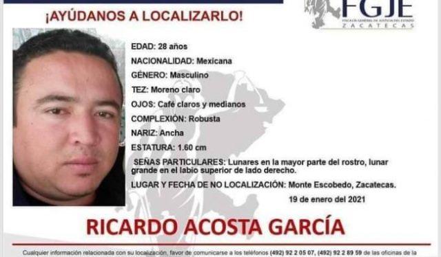 ¡Secuestraron ahora al director de Seguridad Pública de Monte Escobedo!