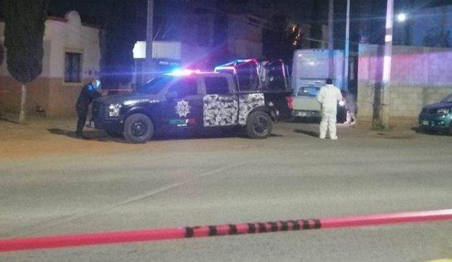 ¡Cerca de la Policía Municipal ejecutaron a un automovilista en Zacatecas!